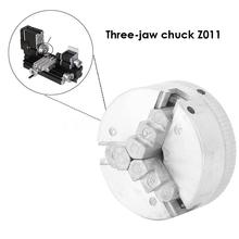 3 Jaws Collet Chuck for Lathe Zinc Alloy Mini Collet Durable Clamps Compact Size Wear-resistant Thread Machine Tools Accessories