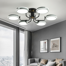 LED Ceiling Light Modern Lamp Panel Living Room Round Lighting Fixture Bedroom Kitchen Hall Surface Mount Flush Ceiling Lamps modern k9 crystal led flush mount ceiling lights fixture mixed crystal home ceiling lamps for living room bedroom kitchen