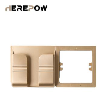 Herepow gniazdko elektryczne telefon komórkowy 11 uchwyt Smartphone USB podstawka ładująca stojaki na stojaki podłącz Android iOS i telefony 11 tanie i dobre opinie CN (pochodzenie) CA-SJZJ