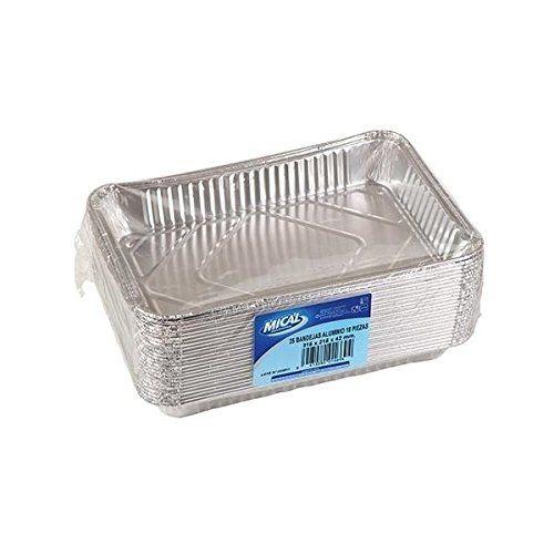 Aluminium. Disposable - 315 X 215 X 42 Mm - 25 Units
