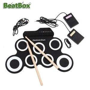 Electronic Drum Set Portable D