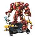 Bela 10833  совместимые с Legoinglys  Marvel  Super Heros  Железный человек  анти-Халк  механические игрушки для детей  строительные блоки