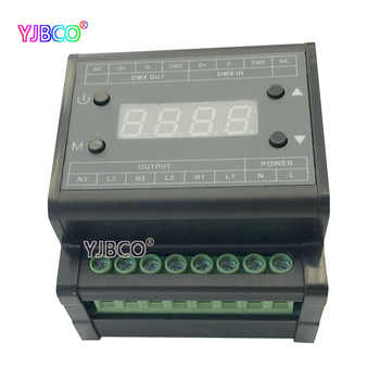DMX triac led dimmer brightness controller DMX302 High voltage AC90V-240V 50Hz/60Hz Output 3channels 1A/CH for led panel light - DISCOUNT ITEM  32% OFF All Category