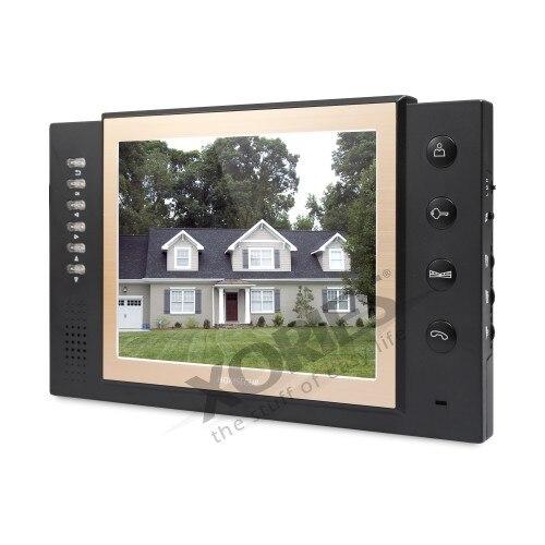 EU Lieferung HOMSECUR 8 Wired Video & Audio Smart Türklingel Snapshot + Eine Taste Entsperren 1C1M TC011 B/TC011 W + TM801R B - 2