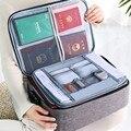 Большая сумка для хранения документов Joybos, креативная многофункциональная папка для файлов, дорожная Паспортная карта, бытовая коробка для...