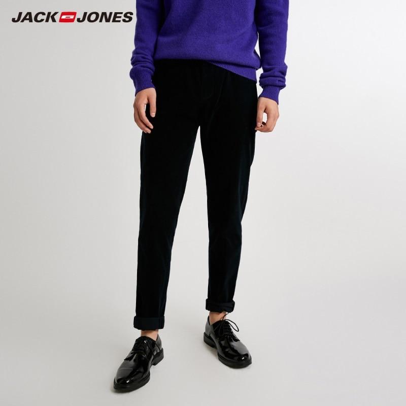 JackJones Men's Cotton Stretch Casual Pants Menswear Basic 218414507