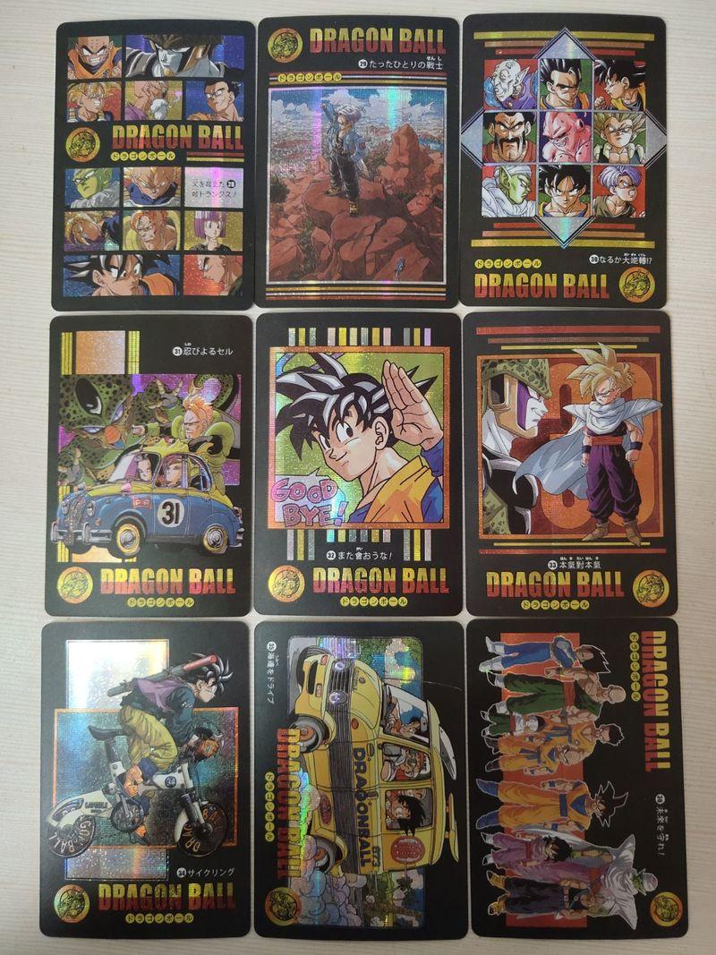 42pcs/set Dragon Ball Z Adventure Chapter Wind And Cloud Super Saiyan Goku Vegeta Game Collection Cards Limit Free Shipping