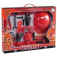 Fireman Sam Toolbox Children's Toys Baby Fire Fighting House Tools Cartoon Simulation Kids Boys Girls play Present Birthday Gift