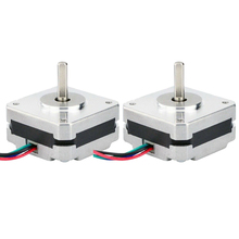 2Pcs 17Hs08 1004S 4 Lood Nema 17 Stappenmotor 20Mm 1A 13Ncm(18.4Oz.In) 42 Motor Nema17 Stepper Voor Diy 3D Printer Cnc Xyz