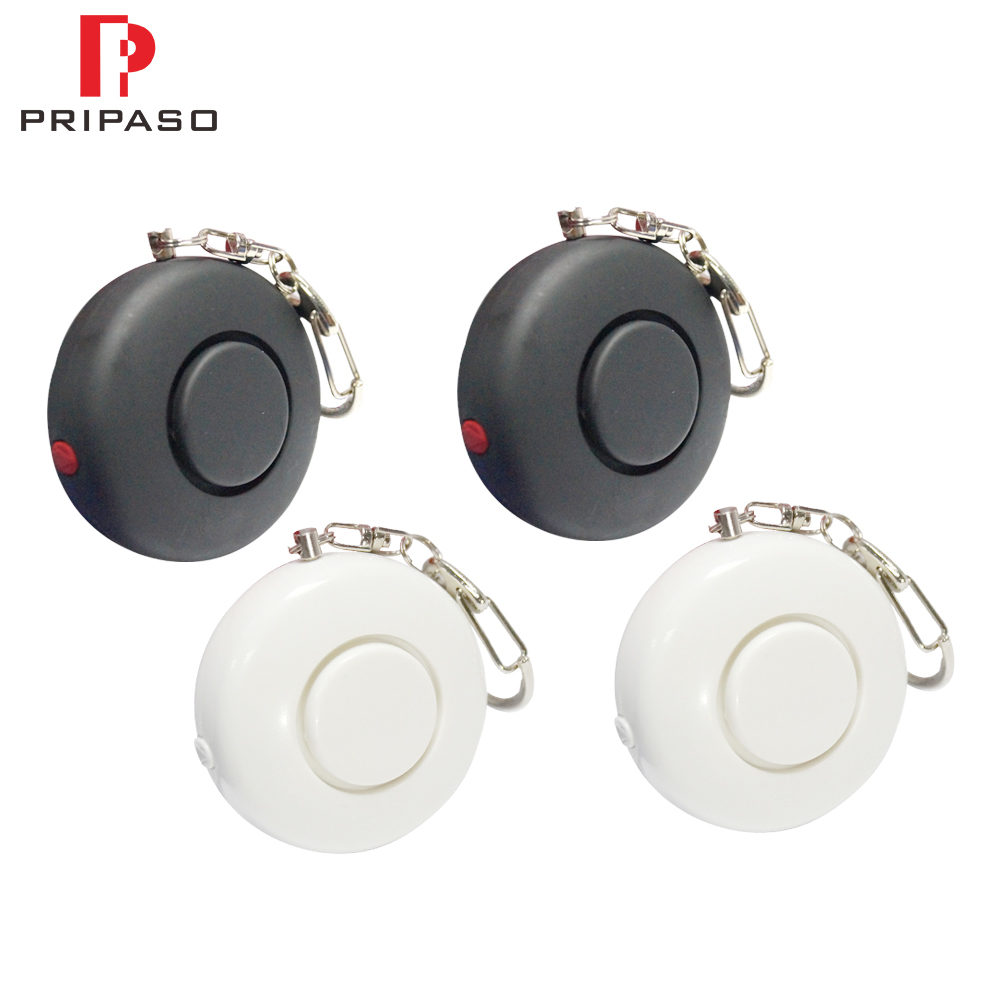Pripaso 10pcs/lot Wholesale Self Defense Alarm 130dB Security Protect Alert Personal Safety Scream Loud Keychain Emergency Alarm