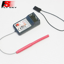 FlySky FS-R6B 2.4Ghz 6CH RC AFHDS FS R6B Receiver for i6 i10 T6 CT6B TH9x Transmitter Remote Control Parts