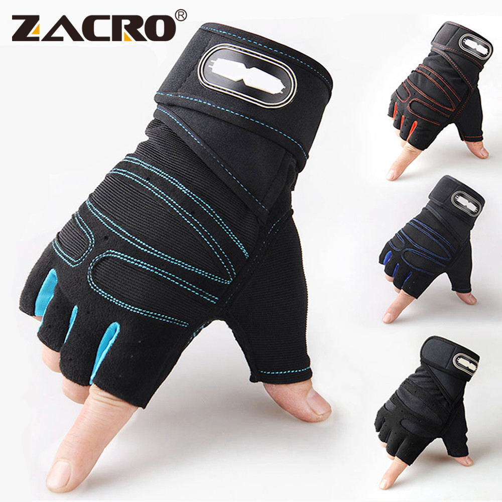 Zacro Gym Gloves Fitness Weight Lifting Gloves Body Building Training Sports Exercise Sport Workout Glove for Men Women M/L/XL Fitness Gloves  - AliExpress