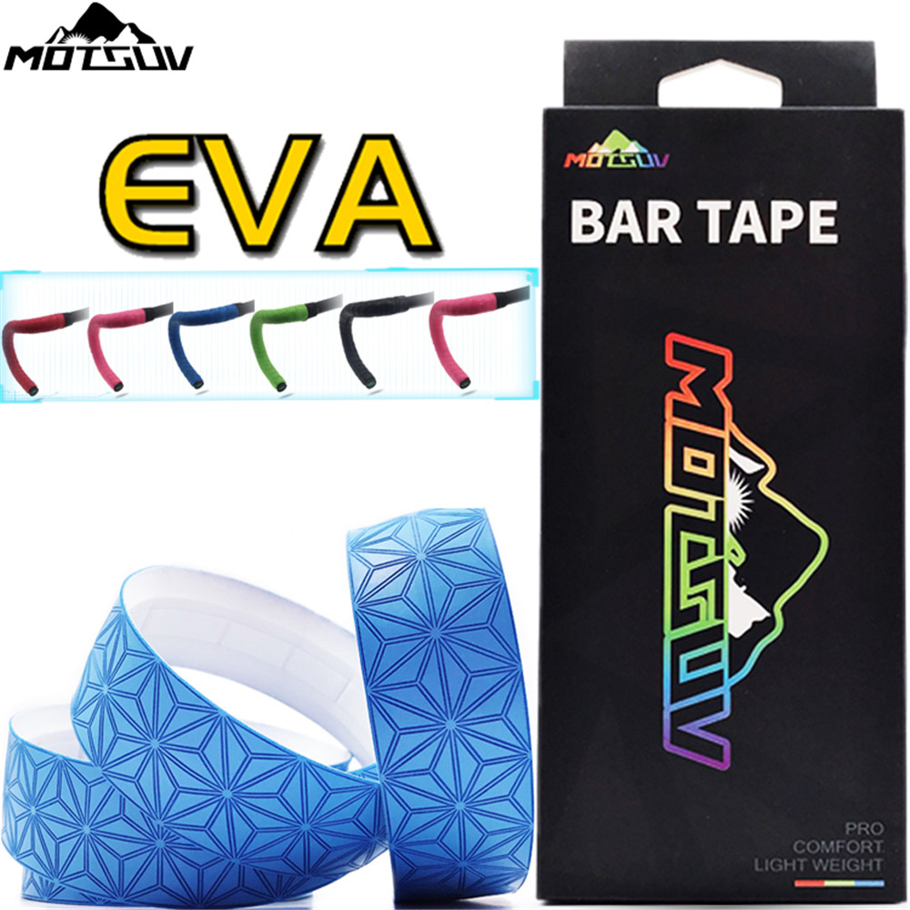 MOTSUV Road Bicycle Handlebar Tape Belt Cycling Handle Bar Grip Wrap Anti-slip Anti-sweat Strap 2 Bar Bike Accessories