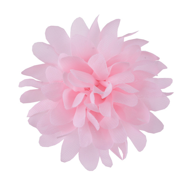 "Nishine 10pcs/lot 4"" Soft Chiffon Flowers Flatback Flet Flower For Apparel Hair Accessories Fabric Flowers For Diy Headbands"