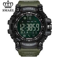 SMAEL мужские часы с хронографом спортивные мужские часы армейские военные часы мужские многофункциональные водонепроницаемые светодиодный цифровые часы для мужчин