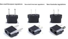 Universele Kr Amerikaanse Europese Au Eu Ons Uk Power Plug Adapter Vs Israël Brazilië Travel Adapter Plug Converter Japan korea