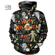PLstar Cosmos Halloween terror horror awesome charming 3D Printed Hoodie/Sweatshirt/shirts Mens Womens handsome style-6