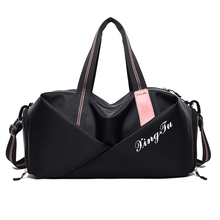 Multi functional fitness bag men's and women's dry wet separation Yoga Gym  Bag Fashion Design travel bags with shoe compartment