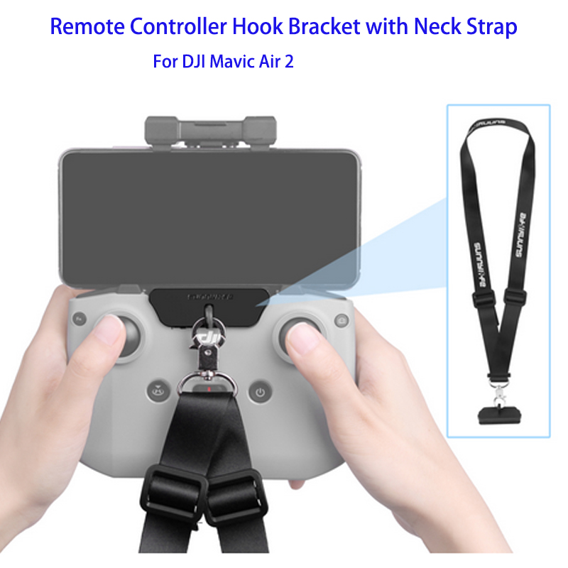 Remote Controller Hook Bracket with Strap Belt for Mavic Air 2 Drone Accessories