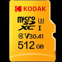 Kodak haute vitesse 16GB 32GB 64GB 128GB TF/Micro carte SD cartao de mémoire class10 U1 carte mémoire Flash mecard Micro sd kart