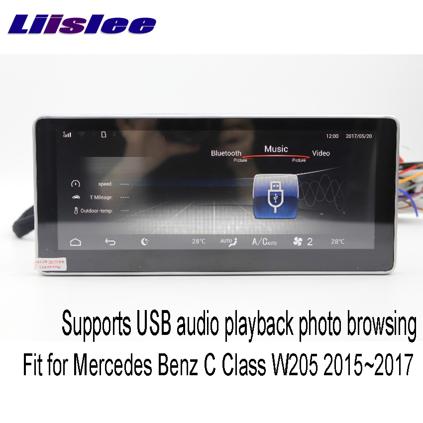 "Perfect Liislee 10.25"" Android For Mercedes Benz C Class"