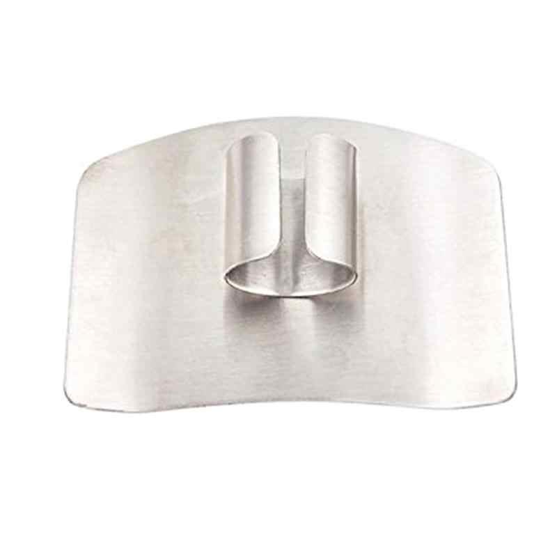1PC osłona na palce chroń palec ręcznie cięte ochraniacz na dłoń nóż Cut osłona palca narzędzie narzędzie kuchenne ze stali nierdzewnej Drop ship