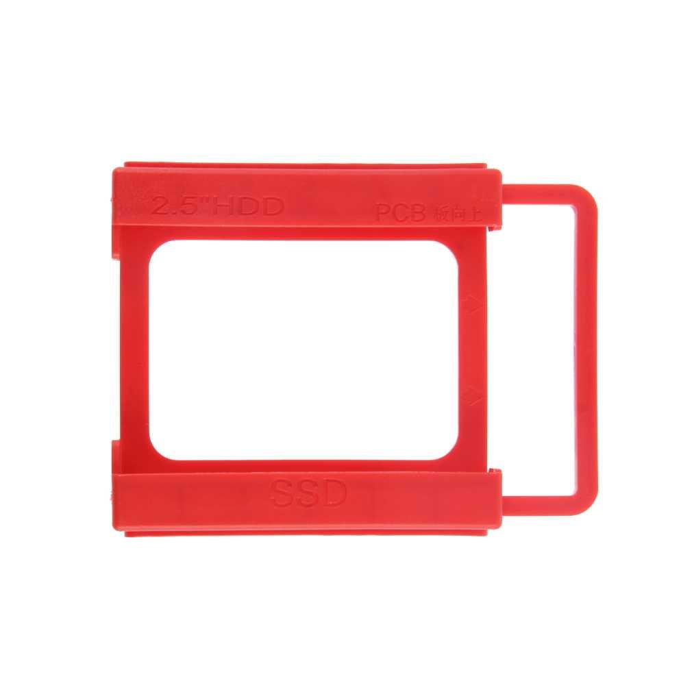 """2.5 """"do 3.5"""" SSD HDD Notebook napęd dysku twardego uchwyt montażowy uchwyt do adaptera ze śrubami Red Wholesale"""