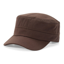 Cap Womens Brim Fashion Hat Visor-Hat Plain-Cap Flat-Top-Hats Cadet Sun-Baseball Army