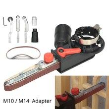 Angle Grinder Mini DIY Sander Sanding Belt Adapter Bandfile Belt Head Sander for 115mm 4.5