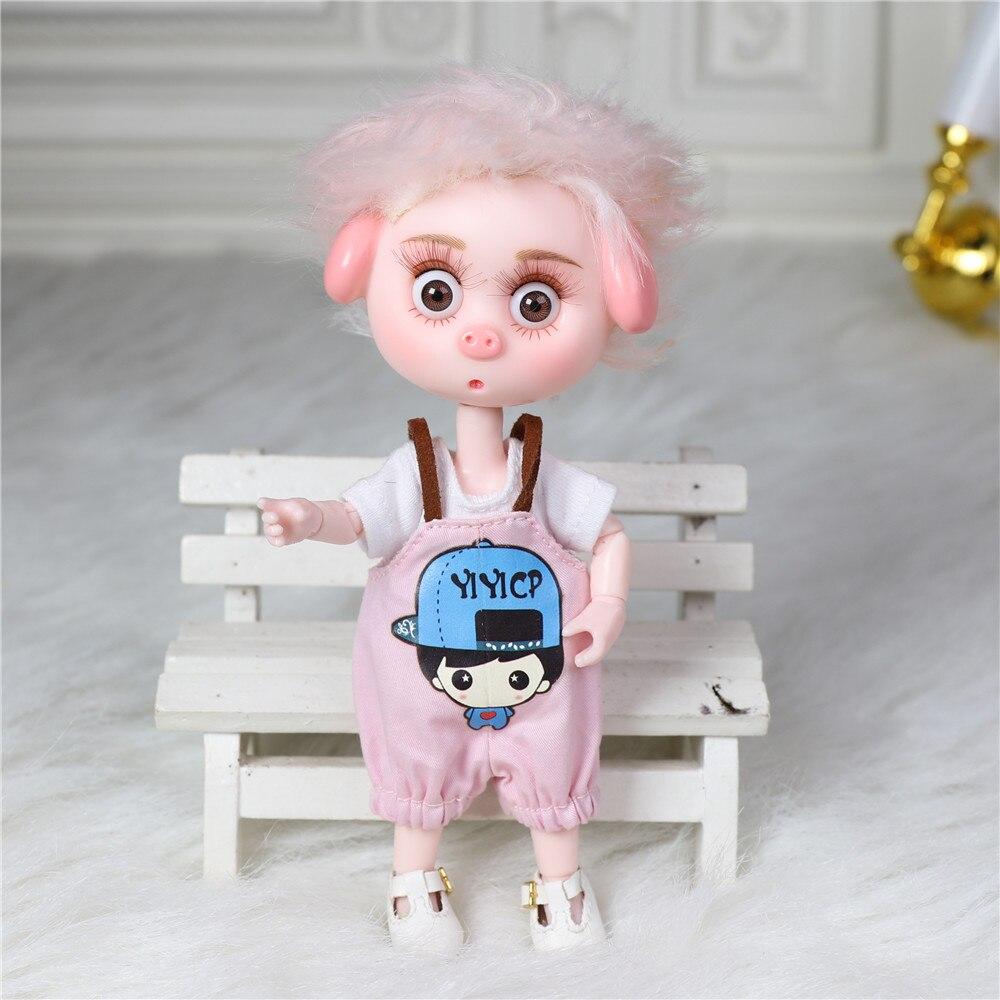 Dream Fairy 1/12 BJD DODO Doll 14cm mini doll 26 joint body Cute children gift toy ob11 10