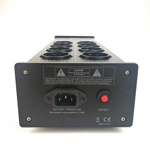 Image 4 - WAudio W 4000 เสียงรบกวนAC Power Filter Power Conditioner Powerเครื่องฟอกอากาศป้องกันไฟกระชากEU Outlets Power Strip