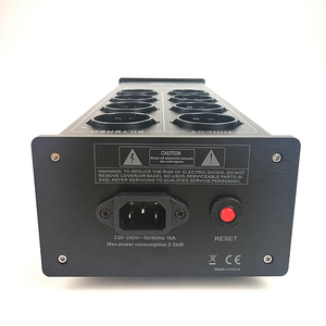 Image 4 - WAudio W 4000 אודיו רעש AC חשמל מסנן כוח מזגן כוח מטהר Surge הגנה עם האיחוד האירופי חנויות כוח הרצועה