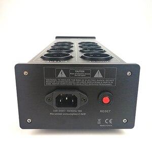 Image 4 - Waudio W 4000 Audio Noise Ac Filter Power Conditioner Power Purifier Overspanningsbeveiliging Met Eu Outlets Power Strip