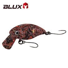 BLUX 35MM 2.2G Crankbait Floating Fishing Lure Shallow Freshwater 1-2ft Wobbler Artificial Hard Plastic Trout Bait Crank Tackle