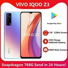 Original vivo iqoo z3 5G SmartPhone Snapdragon 768G 6,58