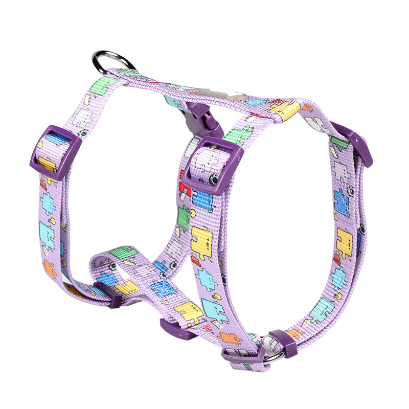 [Cross Border Specifically For] Pet Supplies H-shaped Traction Suspender Strap Chest Suspender Strap Hand Holding Rope Dog I-sha