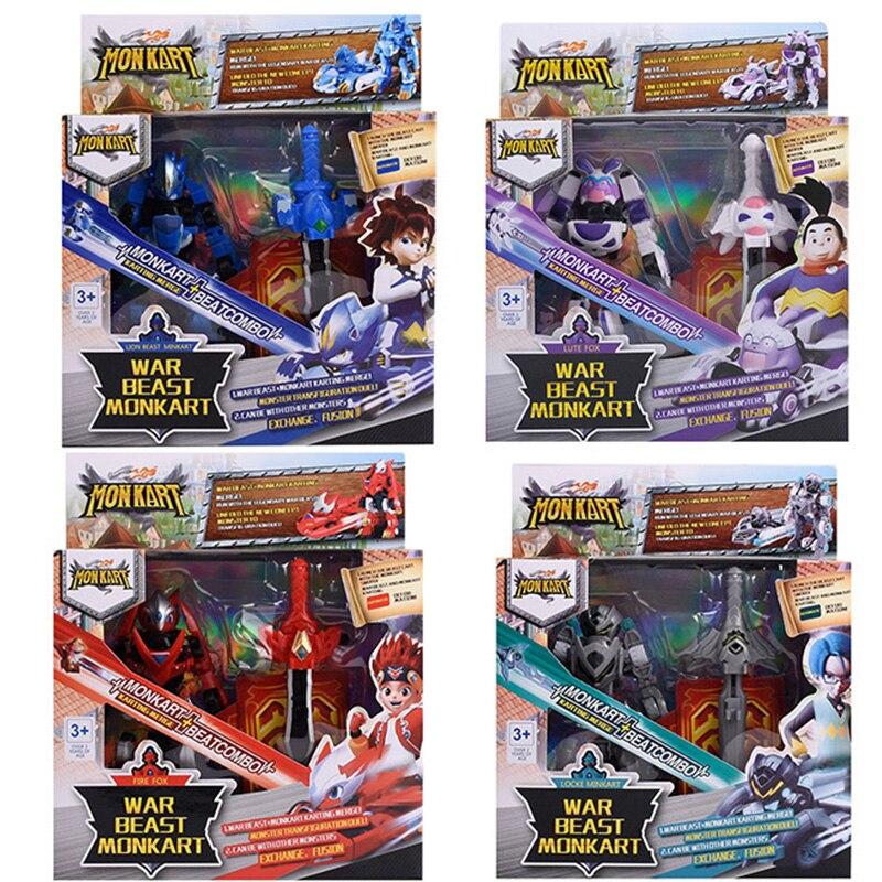 Amazing Car MONKART Transformation Robot TURNING Bakuball Bakucar MeCards Dragon Ball Boy Toys Children Chrtistmas Gifts