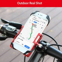 Mobile Phone Holder on Bike High Quality Aluminum Bicycle Clip Motorcycle Handlebar Bracket Anti-slip Tools
