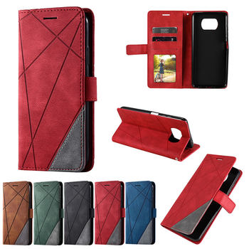 POCO F2 Pro Leather PU Card Slot Business Case for Xiaomi Pocophone X3 NFC Magnetic Wallet Luxury Cover for Mi POCO X3 NFC Etui