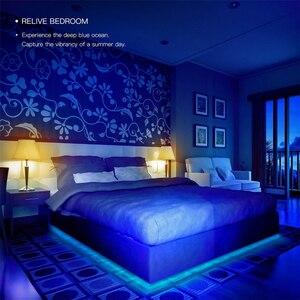 Image 2 - RGB Smart LED Licht Streifen DIY Home Decor Mi Hause APP WiFi Fernbedienung 2M Xiaomi ökologischen kette produkt yeelight