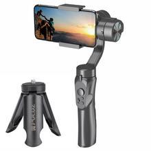Ручной H4 3 осевой и портативный монопод с шарнирным замком стабилизатор стабилизация изображения стабилизатор для смартфона для мобильного телефона экшн Камера для регистрации в прямом эфире