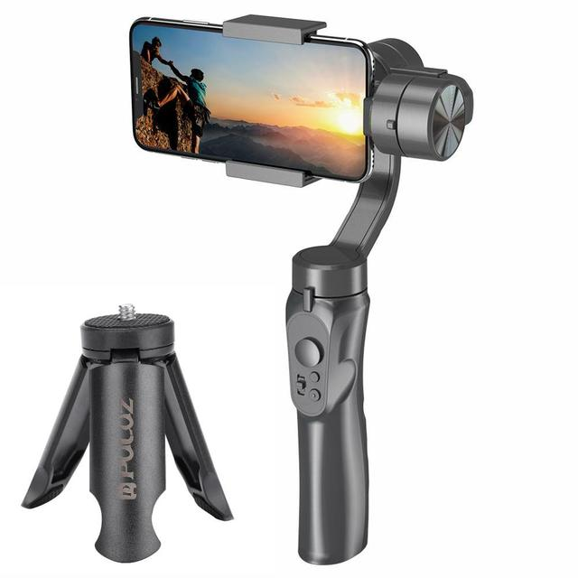 Handheld H4 3 Axis Gimbal Stabilizer Anti shake Smartphone Stabilizer for Cellphone Action Camera for Vlogging Live Broadcast