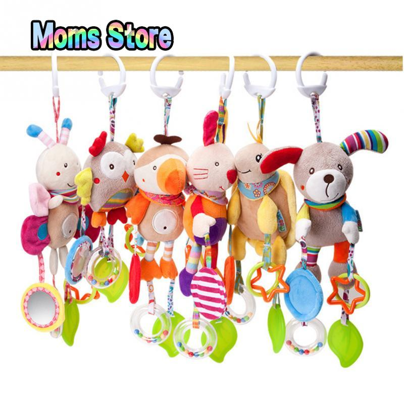 Toddler Toys Baby Toys Bed Stroller Baby Mobile Hanging Rattles Newborn Plush Toy Baby Toys 0-12 Months Toys For Baby