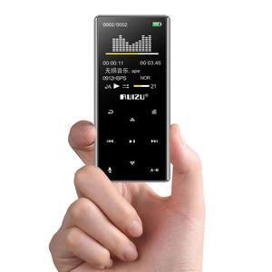 Image 5 - Yeni RUIZU D29 Bluetooth MP3 çalar taşınabilir ses ile 8GB müzik çalar dahili hoparlör desteği FM, kayıt, e kitap