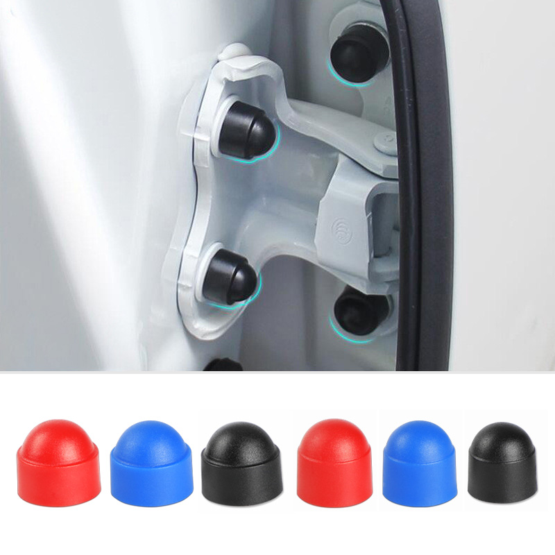 M8 M10 Plastic Metric Dome Bolts Nuts Head Protection Caps For Geely Emgrand X7 EC7 Atlas Boyue CK2 GC6 Parts LC Accessories