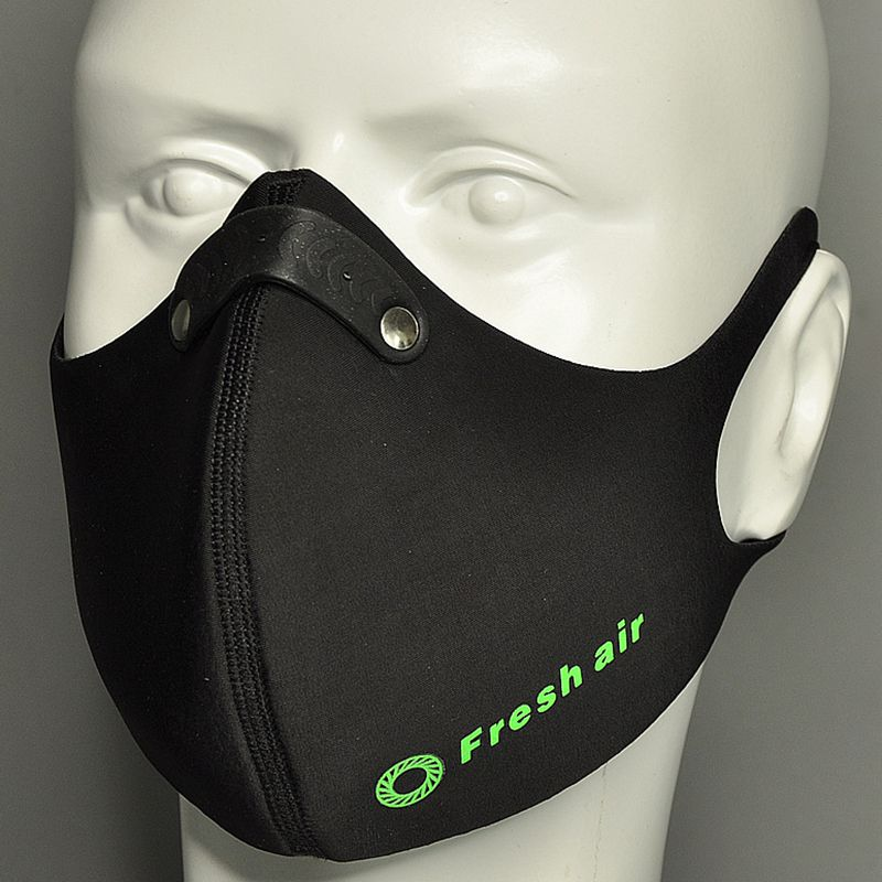 Q  KN95 Mask Anti-fog Mask Anti-fog And Haze KN-95 Dual Filter Mask Bicycle Riding Sports Mask Dustproof
