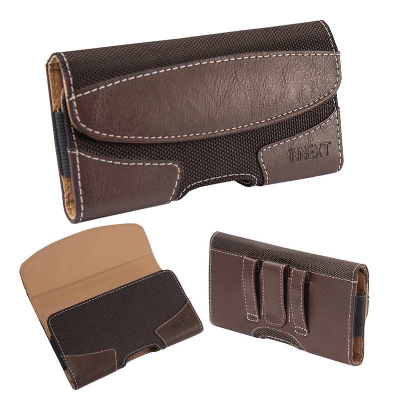 Universal Phone Pouch PU Leather Case 4.7 Inch Belt Clip Holster Waist Cover Case For Iphone 6/6S/7/8 Samsung S6 S6 Edge S7 S10e