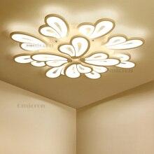 Modern Chandelier Led White Lighting For Living Room Bedroom Dining Surface mounted kroonluchter