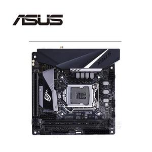 For Asus ROG STRIX H370-I GAMING Original Used Desktop Intel H370 H370M DDR4 Motherboard LGA 1151 i7/i5/i3 USB3.0 SATA3(China)