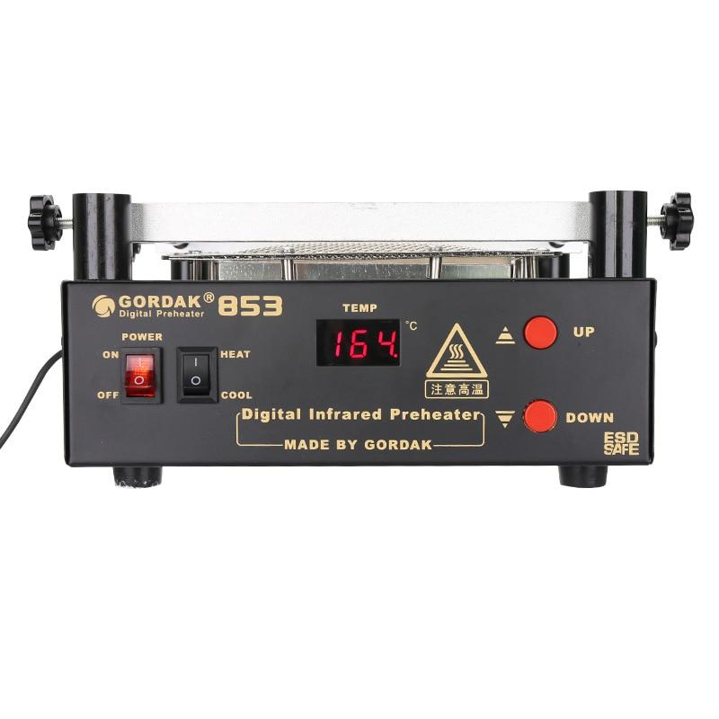 Preheating Lead Free Station Infrared Rework Heating Control 853 Bottom Gordak IR BGA Station Temperature Preheater Station